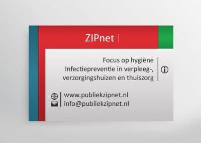 Visitekaartje publiek ZIPnet